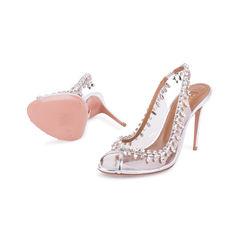 Aquazzura temptation embellished sandals 2?1556342890