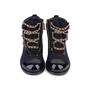 Authentic Second Hand Chanel Paris Salzburg Charm Ankle Boots (PSS-200-01686) - Thumbnail 0