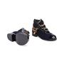 Authentic Second Hand Chanel Paris Salzburg Charm Ankle Boots (PSS-200-01686) - Thumbnail 2
