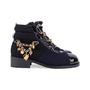Authentic Second Hand Chanel Paris Salzburg Charm Ankle Boots (PSS-200-01686) - Thumbnail 4