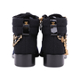 Authentic Second Hand Chanel Paris Salzburg Charm Ankle Boots (PSS-200-01686) - Thumbnail 5