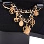 Authentic Second Hand Chanel Paris Salzburg Charm Ankle Boots (PSS-200-01686) - Thumbnail 6