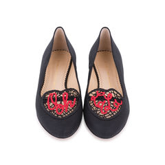 Ooh La La! Crochet Slippers