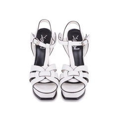 White Tribute Sandals
