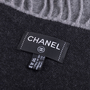 Authentic Second Hand Chanel Wool and Cashmere Blend Logo Throw (PSS-200-01671) - Thumbnail 4
