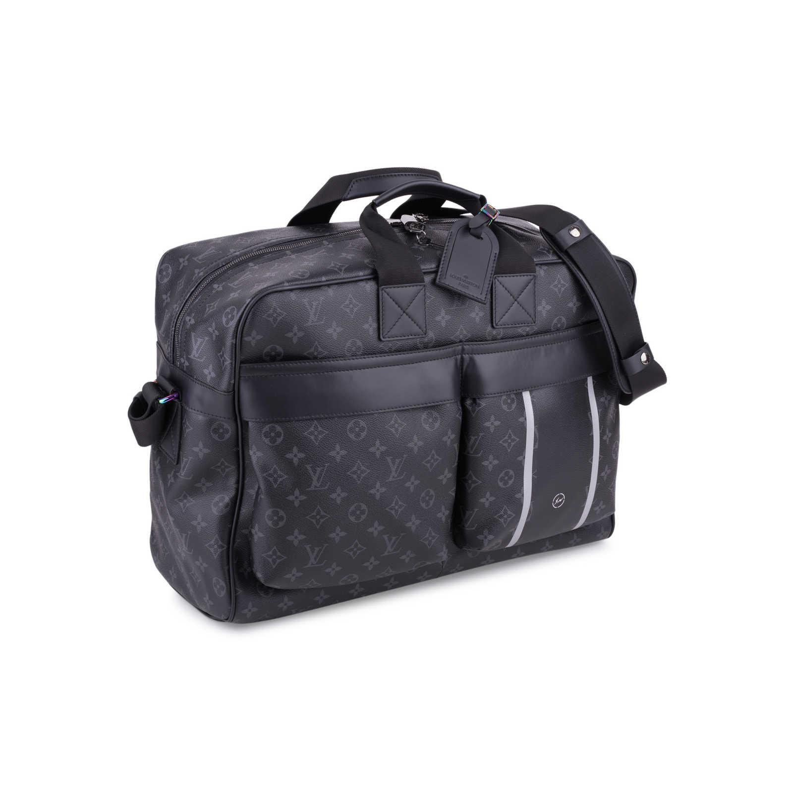 da5893e9d066 ... Authentic Second Hand Louis Vuitton Fragment Eclipse Flash Travel Bag  (PSS-200-01683 ...