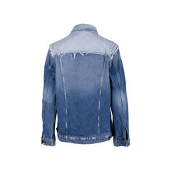 Frame denim reconstructed denim jacket 2?1556515049