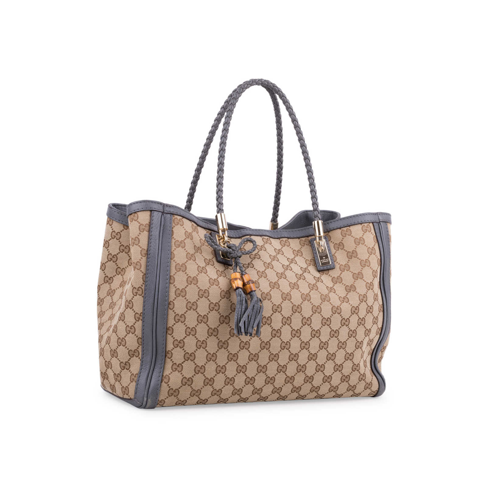 5b87e96d20 ... Authentic Second Hand Gucci Bella Canvas Tote (PSS-639-00002) -  Thumbnail ...