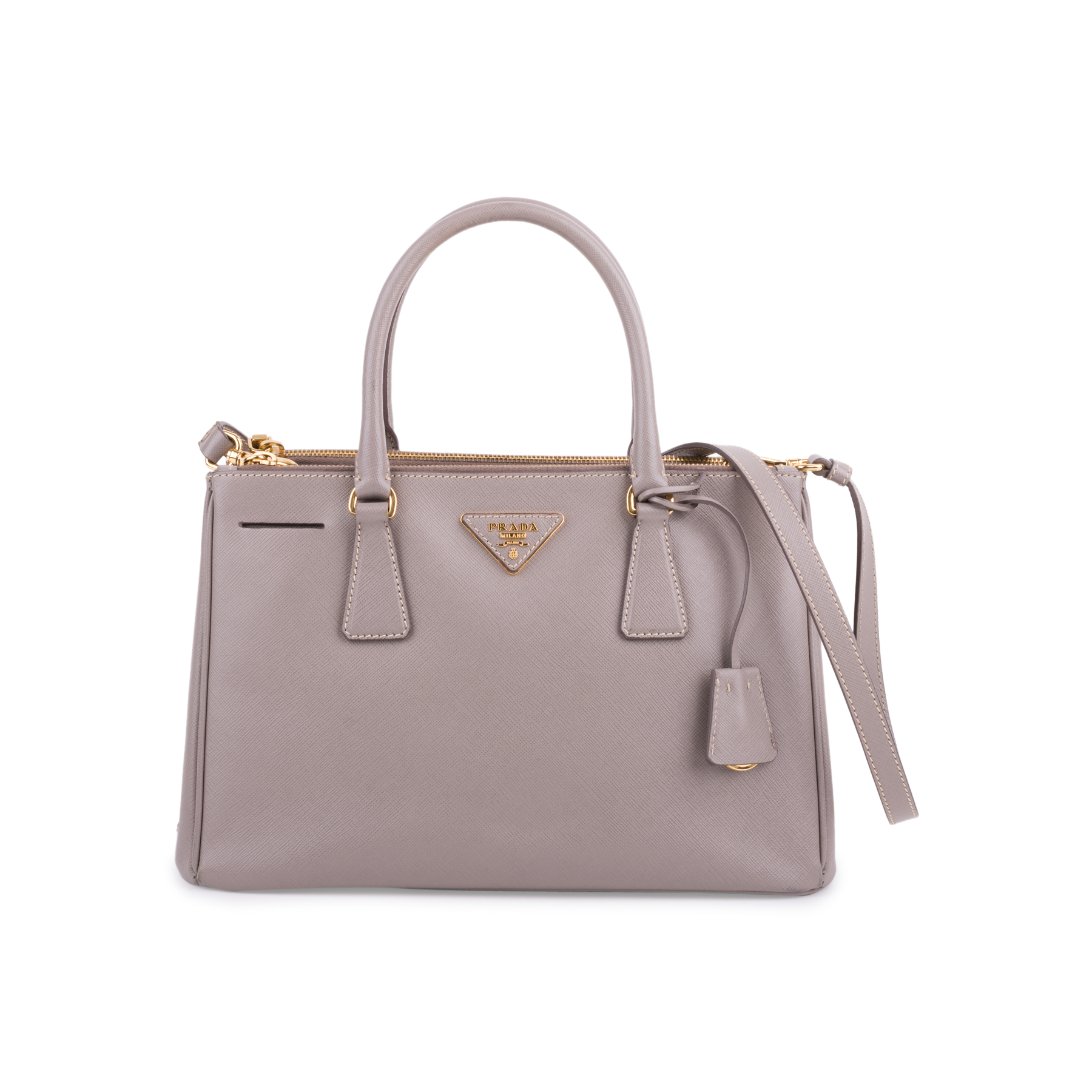 18373c39eb5a Authentic Second Hand Prada Saffiano Lux Small Bag (PSS-646-00001) | THE  FIFTH COLLECTION