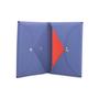 Authentic Second Hand Hermès Bleu De Malte Calvi Pouch (PSS-653-00001) - Thumbnail 7