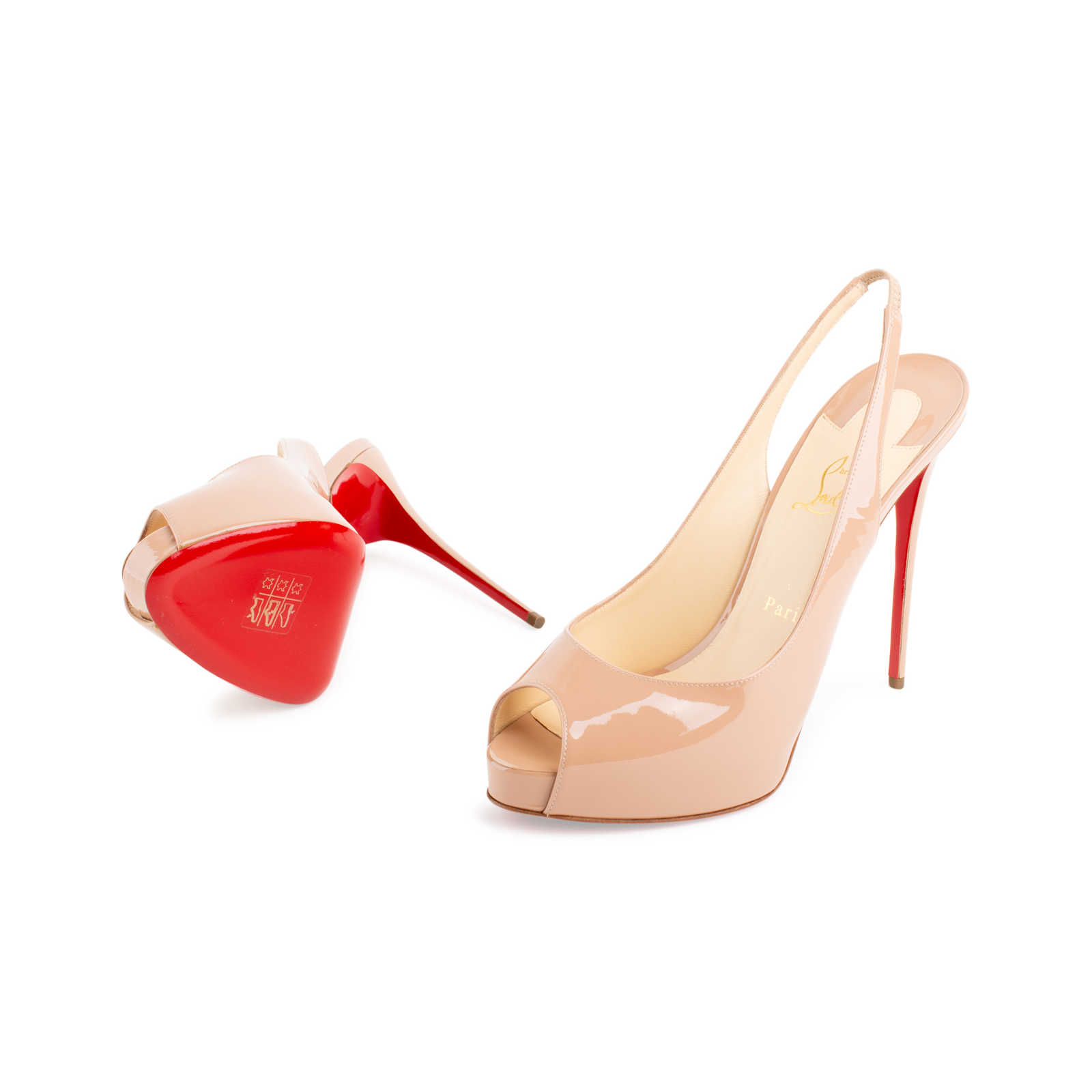 aa41309dca7 Authentic Second Hand Christian Louboutin Private Number Patent 120 ...