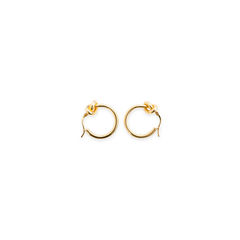 Celine knot small hoop earrings 2?1557296231
