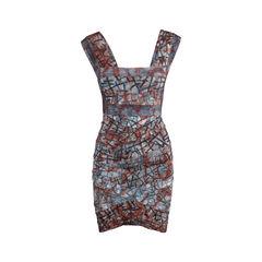 Tie Dye Bandage Dress