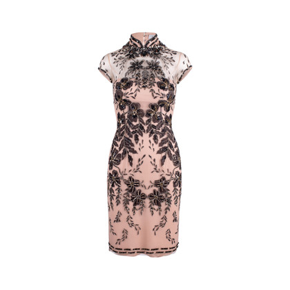 Authentic Second Hand Biyan Beaded Cheongsam Dress (PSS-652-00002)