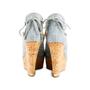 Authentic Second Hand Louis Vuitton Monogram Denim Wedge (PSS-097-00153) - Thumbnail 5