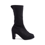 Authentic Second Hand Chanel Mesh Mid Calf Booties (PSS-200-00278) - Thumbnail 1