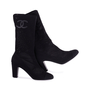 Authentic Second Hand Chanel Mesh Mid Calf Booties (PSS-200-00278) - Thumbnail 4