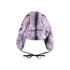 Fox Fur Print Chapka