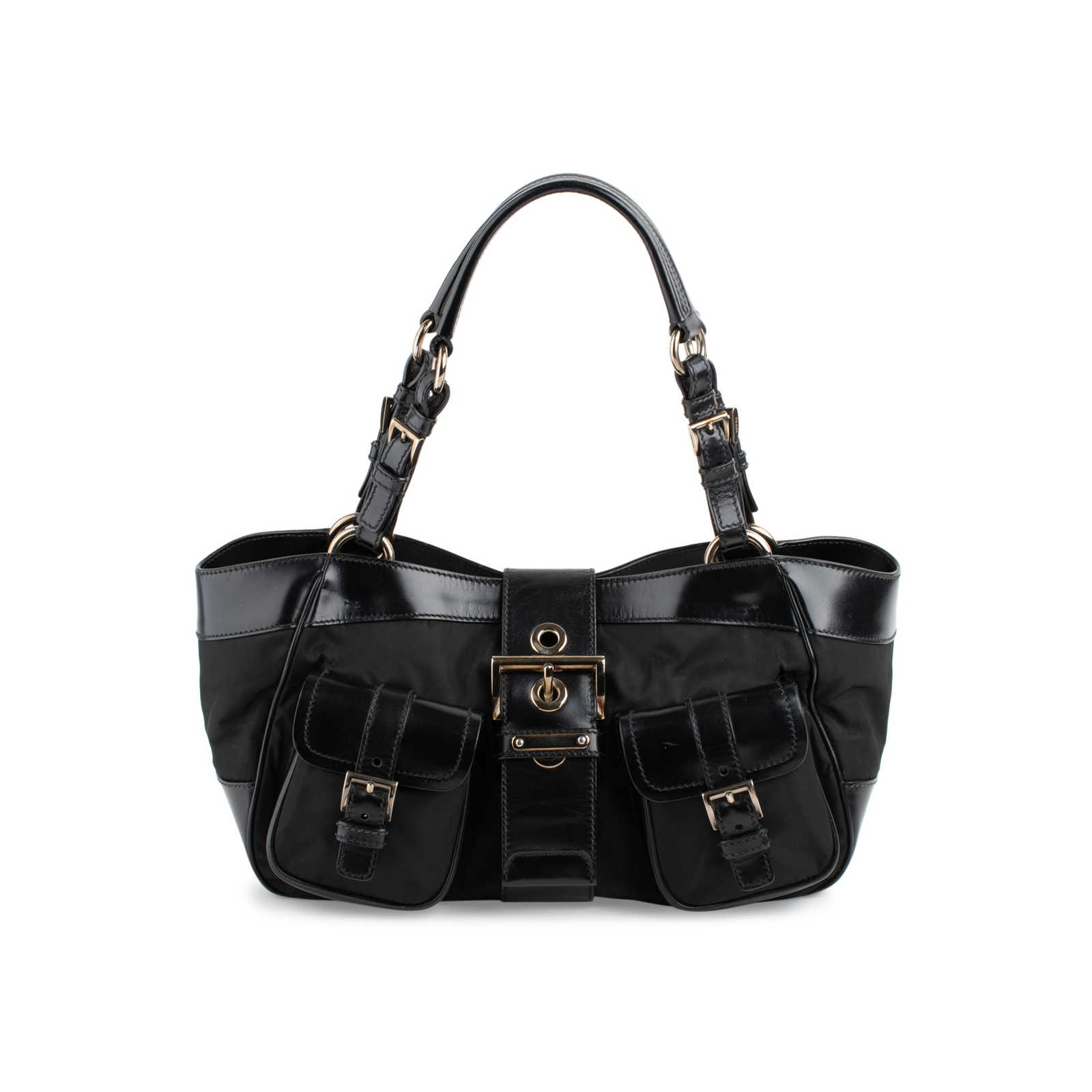 6f0c90f3d085 Authentic Second Hand Prada Shopping Stripe Bag (PSS-648-00004) - Thumbnail  ...