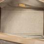 Authentic Second Hand Céline Leather and Canvas Trapeze Bag (PSS-648-00011) - Thumbnail 2