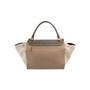 Authentic Second Hand Céline Leather and Canvas Trapeze Bag (PSS-648-00011) - Thumbnail 4