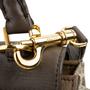 Authentic Second Hand Céline Leather and Canvas Trapeze Bag (PSS-648-00011) - Thumbnail 7