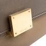 Authentic Second Hand Céline Leather and Canvas Trapeze Bag (PSS-648-00011) - Thumbnail 8