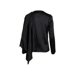 Issey miyake ruffled asymmetrical blouse 2?1558111810