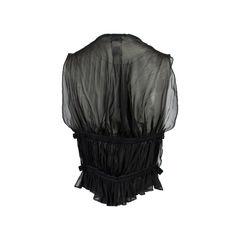 Jean paul gaultier pleated silk sheer vest 2?1558111858