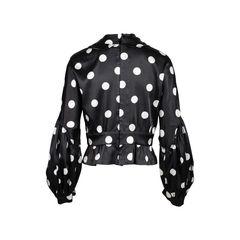 Comme des garcons polka dot sailor blouse 2?1558111908