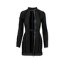 Authentic Second Hand Phi Ruched Velvet Panel Dress (PSS-617-00048) - Thumbnail 0