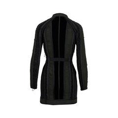 Phi ruched velvet panel dress 2?1558111942