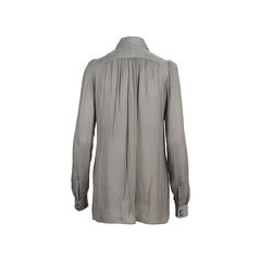 Lanvin oversized silk shirt 1?1558241830