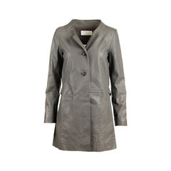 Lambskin Leather Coat