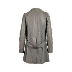 Chloe lambskin leather coat 5?1558244861