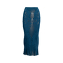 Authentic Second Hand Issey Miyake Stretch Lace Cut Out Skirt (PSS-617-00027) - Thumbnail 0