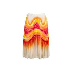 Dip Dye Contrast Skirt