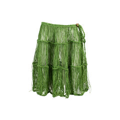 String Overlay Skirt