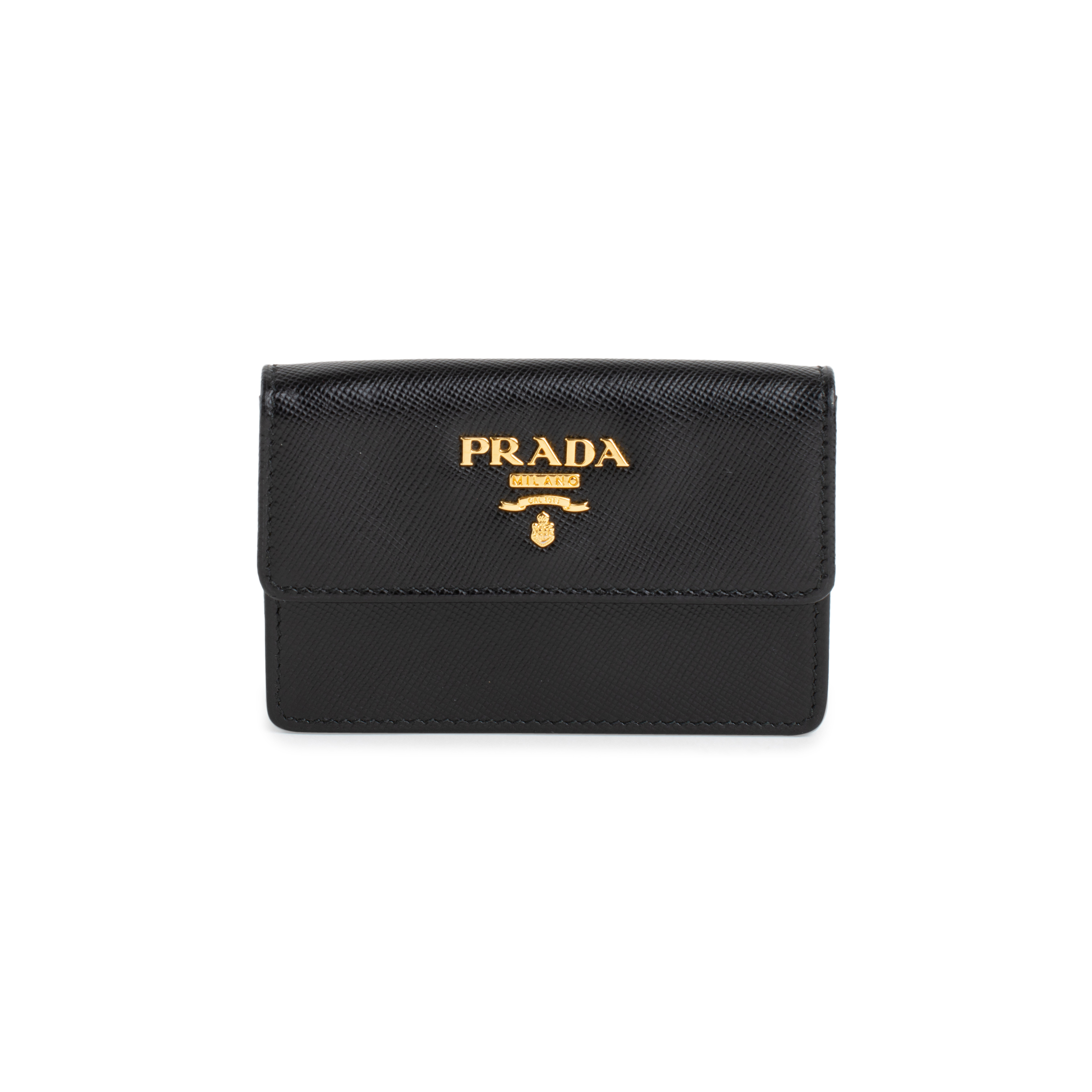 47160d93f826 Authentic Second Hand Prada Saffiano Card Holder (PSS-556-00031) | THE  FIFTH COLLECTION