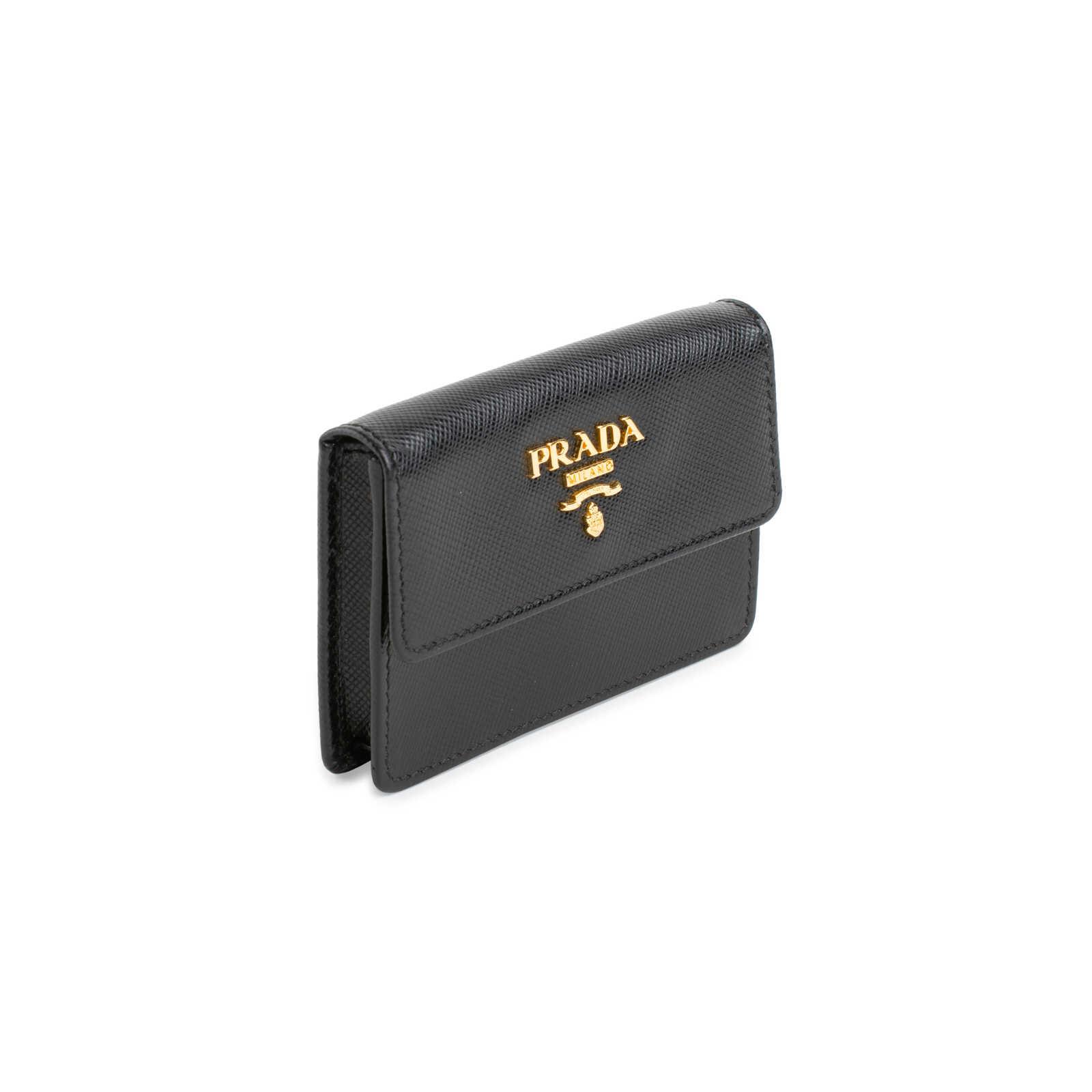 35d1ce075cc9 ... Authentic Second Hand Prada Saffiano Card Holder (PSS-556-00031) -  Thumbnail ...