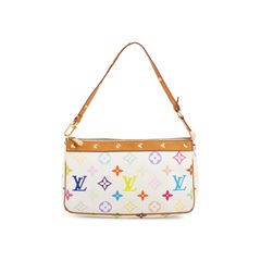 Multicolore Monogram Pochette Bag