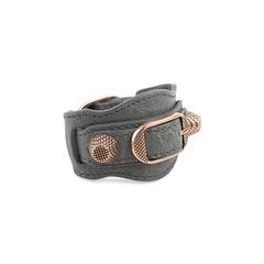 Balenciaga giant 12 single strap bracelet 2?1558590004