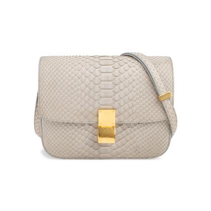 Authentic Second Hand Céline Python Box Bag (PSS-658-00001)