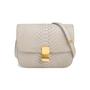 Authentic Second Hand Céline Python Box Bag (PSS-658-00001) - Thumbnail 0