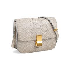 Celine python box bag grey 2?1558610813