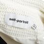 Authentic Second Hand Self-Portrait Sculpted Tuxedo Dress (PSS-678-00002) - Thumbnail 2