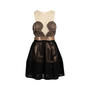 Authentic Second Hand Three Floor Lace Metallic Dress (PSS-678-00004) - Thumbnail 0