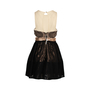 Authentic Second Hand Three Floor Lace Metallic Dress (PSS-678-00004) - Thumbnail 1