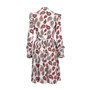 Authentic Second Hand Dodo Bar Or Jaeger Ruffled Paisley Silk Dress (PSS-424-00163) - Thumbnail 1
