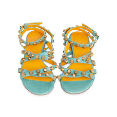 Stud Multi Strap Sandals